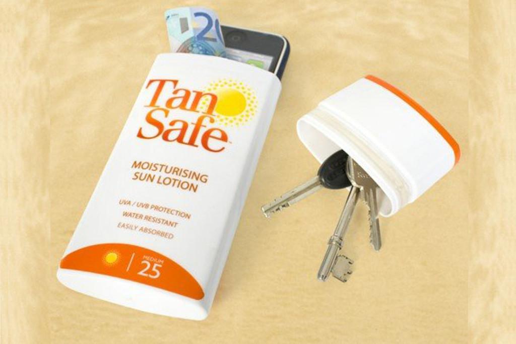 как сохранить ценные вещи на пляже